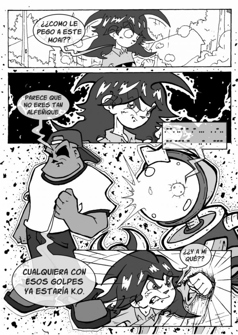 Webcomic de Coke Farias el MangaCHI .No es Cómic, no es Manga...es MangaCHI.