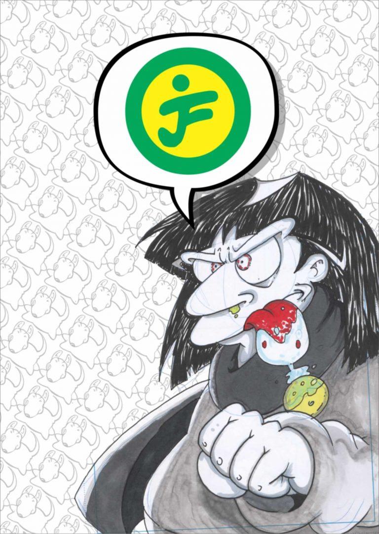 Webcomic de Coke Farias el MangaCHI .No es Cómic, no es Manga...es MangaCHI.